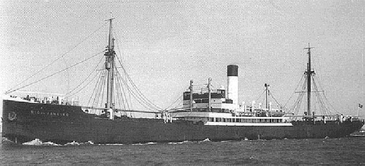 """statek """"Rio de Janeiro"""""""