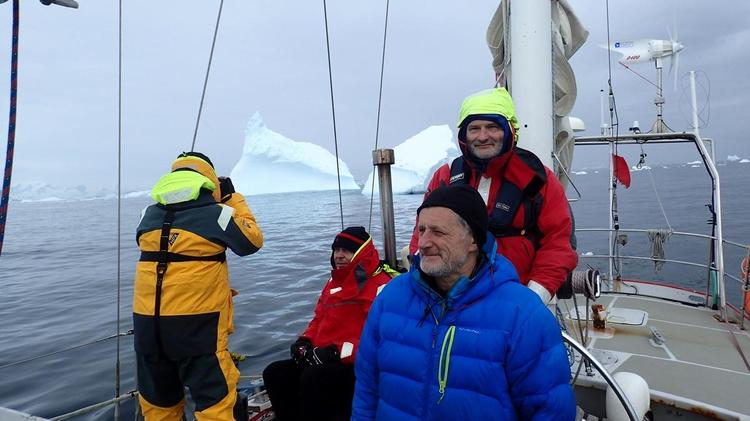 SELMA w drodze na Antarktydę