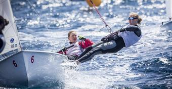 Polki pewne medalu w mistrzostwach świata klasy 470 w Salonikach