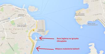 Rio 2016. W wodzie u wybrzeży Rio znaleziono wyjątkowo groźną bakterię